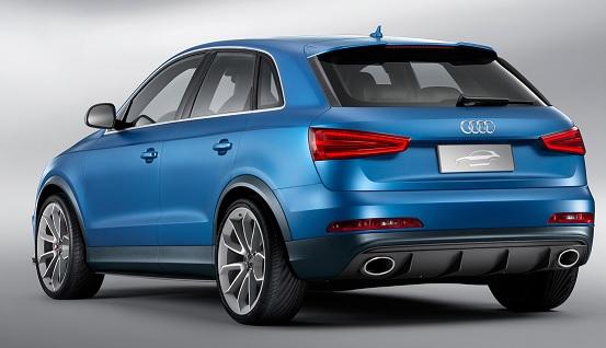 The Q1, Audi's Smallest Q-range SUV Coming 2016